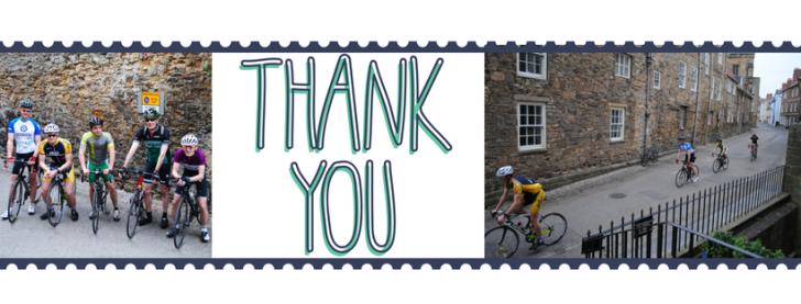 bike ride thank you