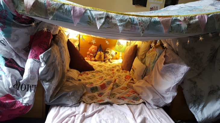 Sharing a room fort